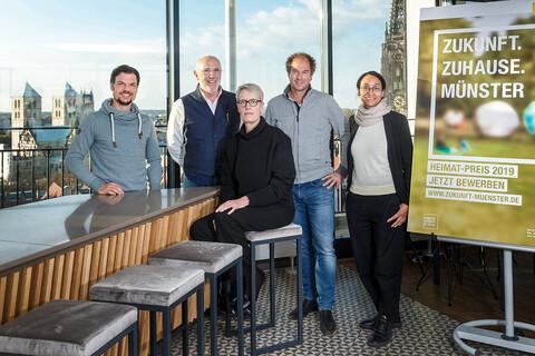 Die Jury des Heimat-Preises 2019