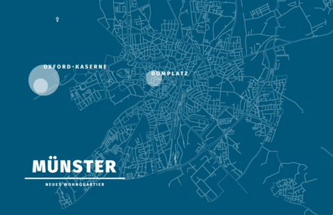 2 Stück Münsterzukunft Oxford-Quartier