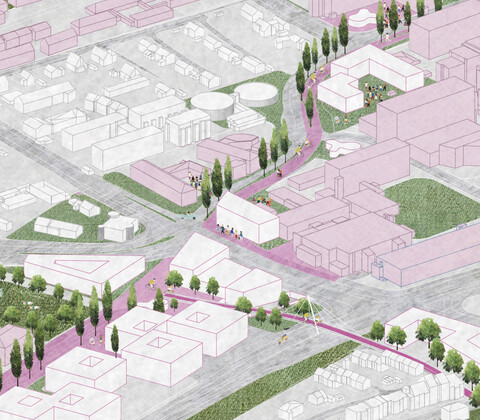 Urban Catalyst (Berlin), Entwurf im Rahmen der Internationalen Ideenwerkstatt Münster