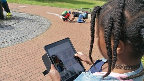 Digital in Berg Fidel unterwegs